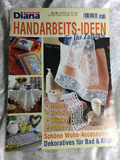 Diana Special - D 1430 Handarbeits - Ideen Zeitschrift Kissen Borten Decken