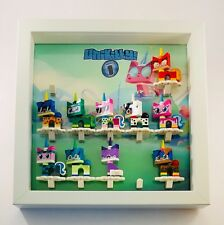 Display Case Frame for Lego Unikitty Series 1  minifigures figures 25cm