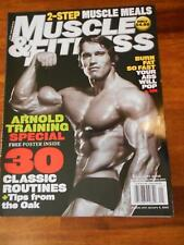 MUSCLE & FITNESS bodybuilding magazine/ARNOLD SCHWARZENEGGER/Stacy Keibler 1-05