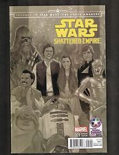 Star Wars Shattered Empire #1 ~ Retailer Summit Variant ~ 2015 (9.2OB) WH