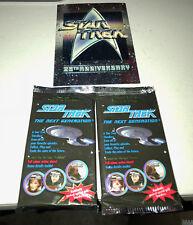 STAR TREK NEXT GENERATION STARDISC LTD ED LAUNCH EDITION MIB CARDS