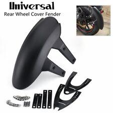 Universal Motorcycle Rear Wheel Cover Fender Splash Guard Mudguard With Bracket