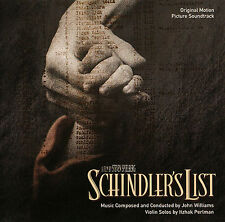 Schindler's List (1993) Original Motion Picture Soundtrack CD by John Williams