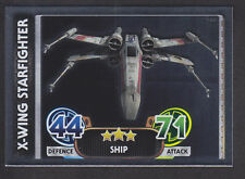 Topps Star Wars - Force Attax The Force Awakens # 180 X-Wing - Mirror