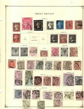 New listing Kenr2: Great Britain Collection from Huge Scott Intern Albums Penny Black & More