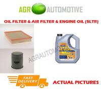 PETROL OIL AIR FILTER KIT + LL 5W30 OIL FOR OPEL VECTRA 1.8 122 BHP 2002-05
