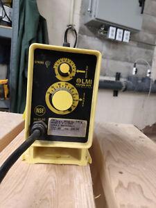 LMI Milton Roy Electromagnetic Dosing Pump 120v 50/60Hz 250Psi