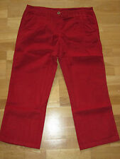 cotton traders pleat front chino cords trousers size 14 leg 33 brand new & tags
