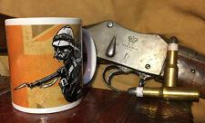 British Redcoat Martini Henry Coffee Mug War Department  Zulu Movie Victorian