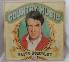 "1981 ""Elvis Presley Country Music"" Album-Vinyl-Time Life-RCA Records"