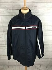 Mens Reebok Retro Rain Jacket/Windbreaker - XL - Great Condition