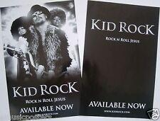 "KID ROCK ""ROCK N ROLL JESUS"" 2-SIDED U.S. PROMO POSTER - American Rock Music"