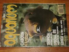 $$$ Revue aquarium magazine N°21 Arothron  Tropical  Filtre sous sable  Mouche