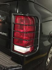 CADILLAC ESCALADE  BLACK POWDER COATED TAIL LIGHT GUARD 2002-2006
