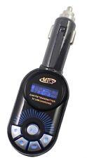 blau FM Transmitter drahtlos USB Micro SD Kartenschlitz Remote Auto Spieler für
