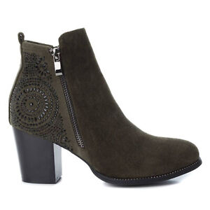 XTI Mujer Botines Botas Zapatos Invierno Medio Bajo 23419