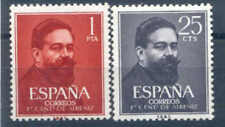 ESPAÑA SPAIN  Edifil # 1320/1321 ** MNH Isaac Albeniz