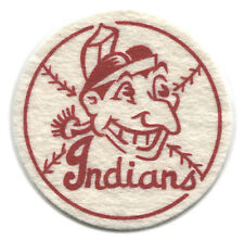 "1954 CLEVELAND INDIANS MLB BASEBALL BEST AND CO. VINTAGE 2.5"" TEAM LOGO PATCH"