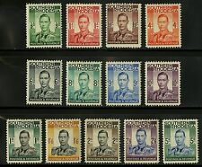 Southern Rhodesia   1937  Scott #42-54   Mint Very Lightly Hinged Set
