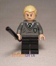 LEGO Draco Malfoy da Set 4841 Hogwarts Express HARRY POTTER FIGURE MINI HP115