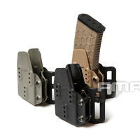 FMA Tactical Paintball Kydex AR Mag Carrier Magazine Pouch 5.56 for Belt System