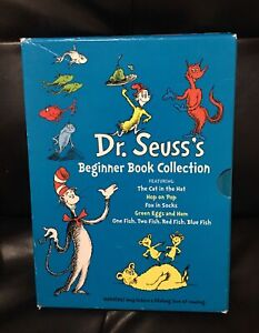 Dr. Seuss's Beginner 5 Book Hardcover Collection Cat In The Hat And More