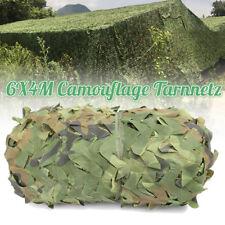 6X4m Camouflage Jagd Tarnnetz Tarnung Camo Netz Armee Ausblenden Abdeckung Camp