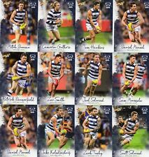 2018 AFL SELECT  FOOTY STARS GEELONG CATS FULL SET OF COMMONS 12 CARDS