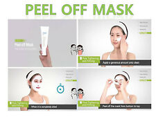 Easy to Mask Pack Peel-off Mask 4.1oz Elasticity Purified Skin Pore Care 120 ml