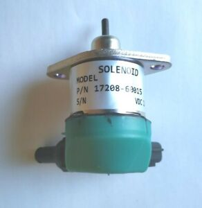 Fuel Stop Solenoid for Kubota V1505 V1305 D905 D1005 D1105 17208-60015