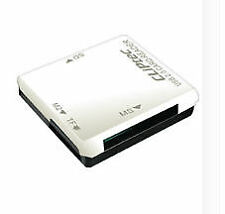 Todo En 1 Multi Lector Usb De Tarjeta De Memoria Sdhc Sd Mmc Micro Mini Flash Trans-Blanco