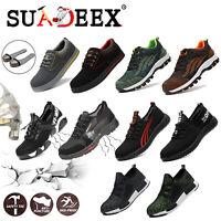 Chaussures de sécurité Hommes Chaussure de travail Bottes Légèr Embout d'acier