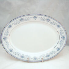 Noritake Contemporary Fine China BLUE HILL 2482 14-in Oval Serving Platter