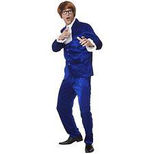 Karnival 82239 1960s Mr Mojo Costume, Men, Blue, Medium