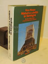 STORIA ARCHITETTURA - V. Mossa: Natura e civiltà in SARDEGNA - Chiarella 1979