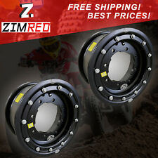 (2) 10x5 3+2 LTR 450 Wheels ATV Beadlock Wheels LTR450R
