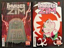 Invader Zim #38 Lot of 2 Regular Cover + Maddie C. Variant Cover Set