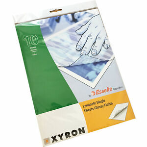 Xyron A4 Gloss Single-Sided Laminating Protection Sheets (pack of 100)