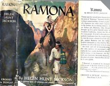 RARE 1912 RAMONA CALIFORNIA INDIANS N.C. WYETH DUST JACKET HELEN HUNT JACKSON