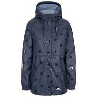 Trespass Womens Rain Coat Longline Waterproof Jacket Polka Dot Coat XXS-XXL