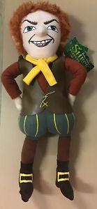 Shrek Forever After- Rumplestilstskin 43cm Plush Toy- Dreamworks 2010- Rare BNWT