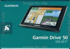 "GARMIN DRIVE 50LM 5"" PORTABLE GPS NAVIGATOR LIFETIME MAPS 49 U.S. STATES RETAIL!"