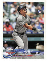 2018 Topps Update US99 Gleyber Torres All Star Game rookie RC card Yankees