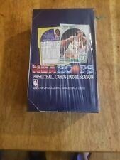 1990-91 NBA Hoops Basketball Series 1 Box - Factory Sealed PSA 10 JORDAN BIRD