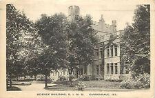 Vintage Postcard Science Building S.I.N.U. Carbondale IL Jackson County