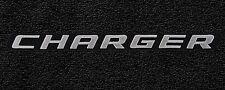 LLOYD Velourtex™ 4pc FLOOR MAT SET 2006-2010 Dodge Charger, logos on front mats