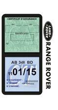 Porte vignette assurance RANGE ROVER double étui voiture Stickers auto rétro