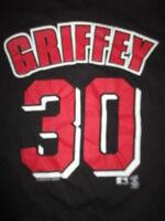 Vintage 2000 Champs KEN GRIFFEY JR No 30 CINCINNATI REDS (MED) T-Shirt Jersey
