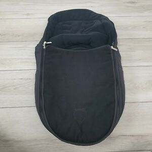 iCandy pram BLACK Footmuff cosytoes With zip WASHED apple 2 pear peach