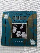 85 The Cult Ian Astbury Autographed She Sells Sanctuary 45 Record Vertigo Canada
